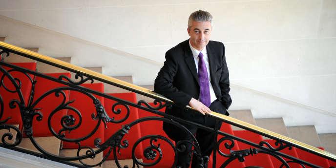 Le député sarkozyste et ancien maire d'Asnières, Manuel Aeschlimann, en mars 2008.
