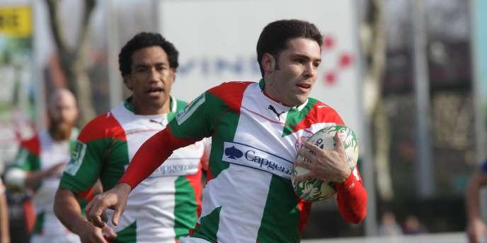 Dimitri Yachvilli a inscrit le premier essai pour Biarritz dès la 10e minute.