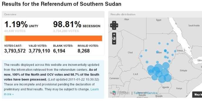 Le référendum est le point clef de l'accord de paix signé en 2005 entre le gouvernement de Khartoum et les rebelles sud-soudanais pour mettre fin à vingt ans de guerre civile entre le Nord, majoritairement arabe et musulman, et le Sud, principalement africain et chrétien.