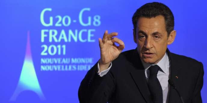Nicolas Sarkozy a justifié la réserve de la France devant la révolution en Tunisie, et évoqué d'autres grands dossiers internationaux.