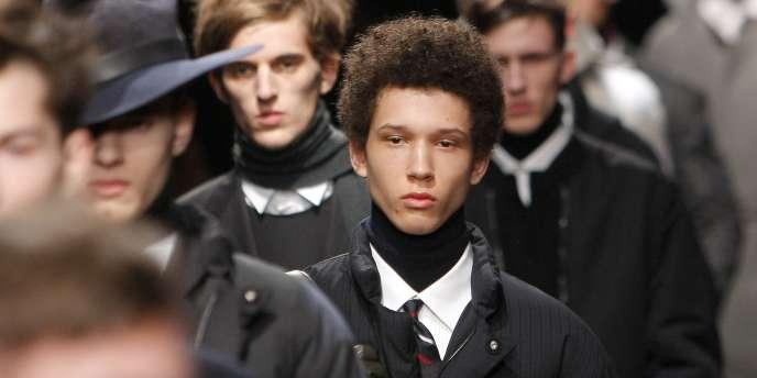 Défilé Lanvin, le 23 janvier 2011 à Paris, dans le cadre de la Semaine de la mode.