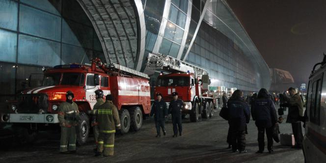 L'aéroport Domodedovo à Moscou.