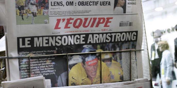 Depuis le 25 juin, le quotidien sportif est découpé en trois parties  : le football, une section