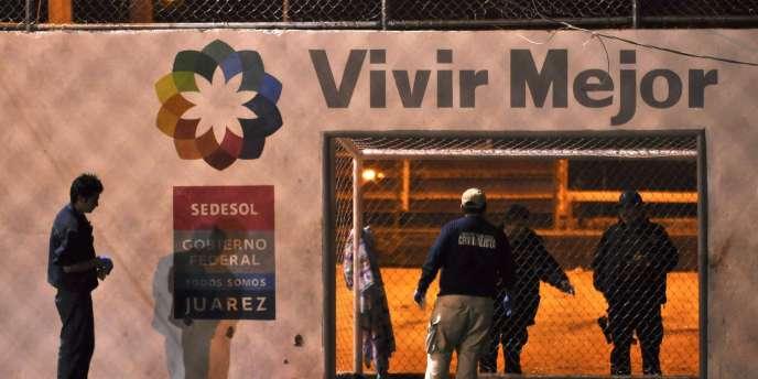 A Ciudad Juarez, le 23 janvier.