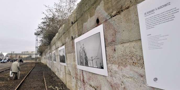 L'ancienne gare de Bobigny, en Seine-Saint-Denis, a été transformée en lieu de mémoire, mardi 25 janvier.