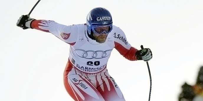 Hans Grugger, le 9 mars à Garmisch.
