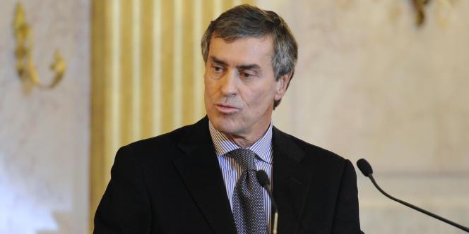 Le ministre du budget, Jérôme Cahuzac