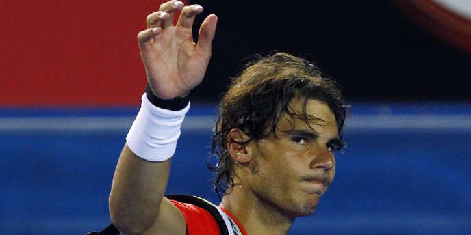 Rafael Nadal, le 26 janvier à Melbourne.