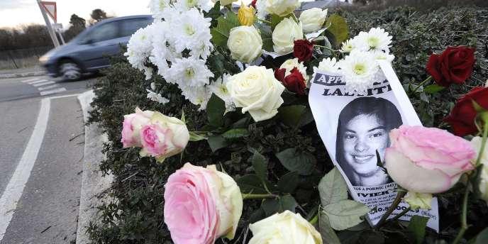 Laëtitia, 18 ans, avait été vue pour la dernière fois vivante le 18 janvier 2011 au soir en compagnie du principal suspect Tony Meilhon, interpellé deux jours après et incarcéré depuis.