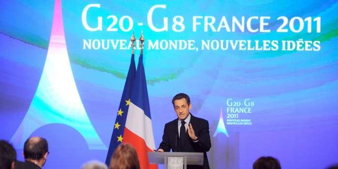 La France, a plaidé le président français lundi, considère cette taxe non seulement comme
