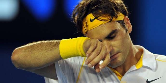 Roger Federer s'est incliné, le 27 janvier, à Melbourne, en demi-finale de l'Open d'Australie.