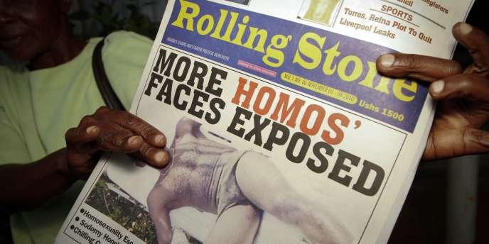 Un tabloïd homophobe à parution irrégulière, Rolling Stone a appelé ses lecteurs à