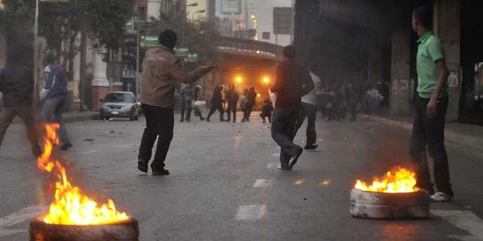 Le Caire, mercredi 26 janvier au soir.