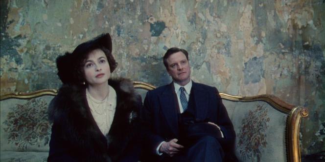 Helena Bonham Carter et Colin Firth dans le film britannique de Tom Hooper,