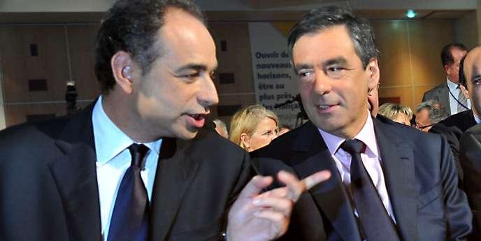 Jean-François Copé, secrétaire général de l'UMP, François Fillon, premier ministre