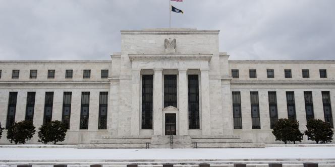 La Réserve fédérale américaine (FED) à Washington en janvier 2011.