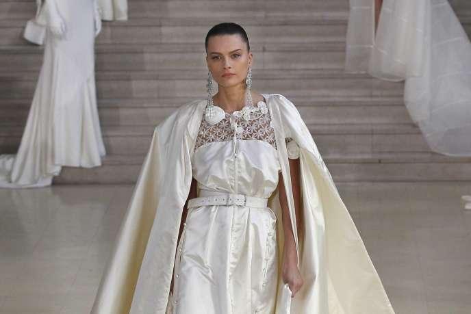 Défilé haute couture printemps été 2012 d'Alexis Mabille.