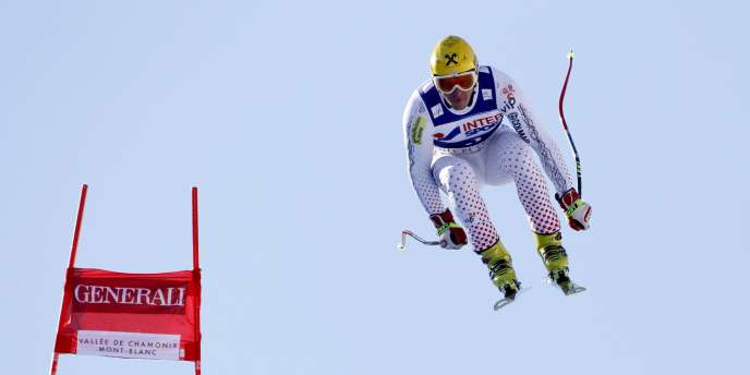 Ivica Kostelic le 29 janvier à Chamonix.