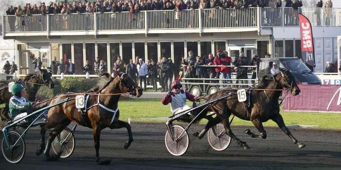 Le cheval français Ready Cash s'est imposé dimanche lors du Prix d'Amérique.