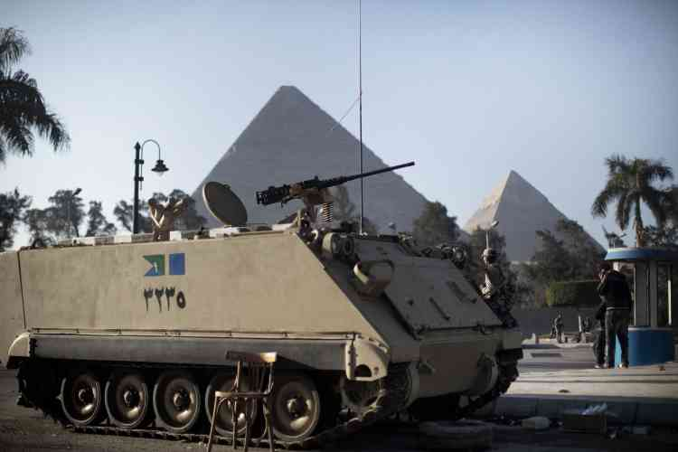 Au Caire, lundi 31 janvier.