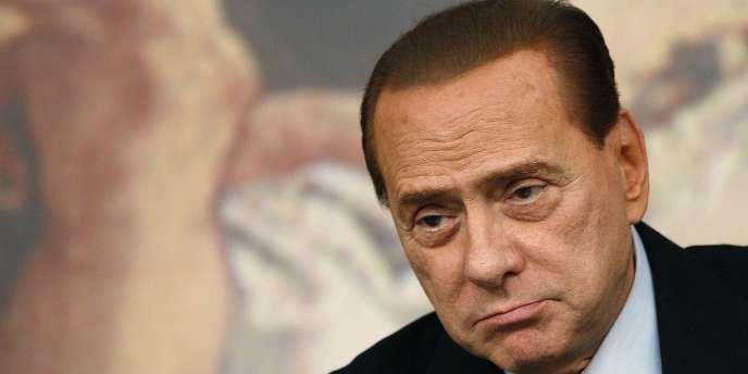 Le chef du gouvernement italien, le 26 janvier 2011.