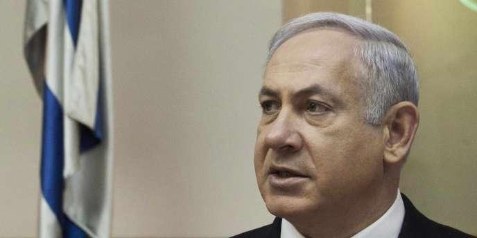 Benjamin Nétanyahou à Jérusalem, le 31 janvier 2011.