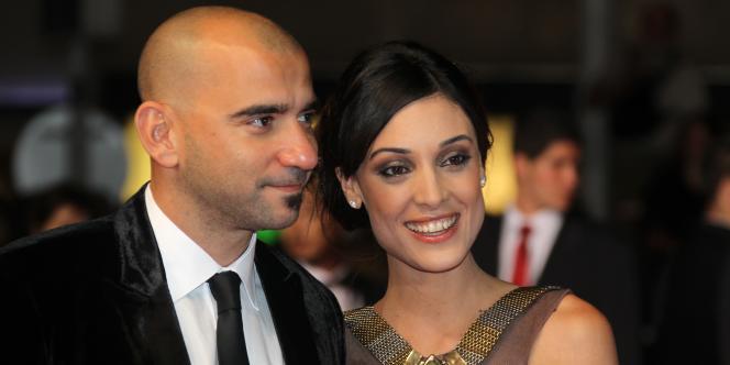 Pablo Trapero et Martina Gusman lors du 63e Festival du film de Cannes, le 17 mai 2010.