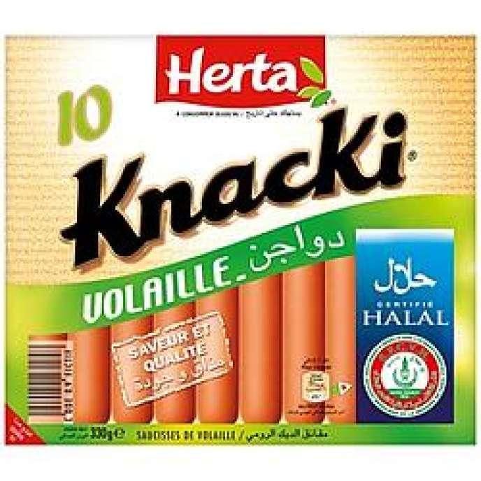 Les saucisses Knacki halal retirées de la vente par les supermarchés Casino.
