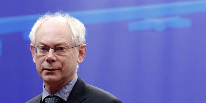 Herman Van Rompuy, à Bruxelles, le 31 janvier 2011.