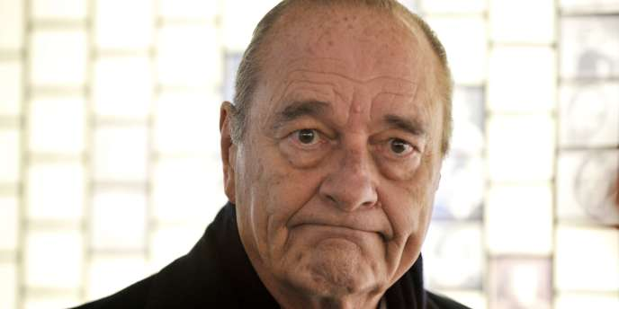 Jacques Chirac, le 27 janvier 2011.