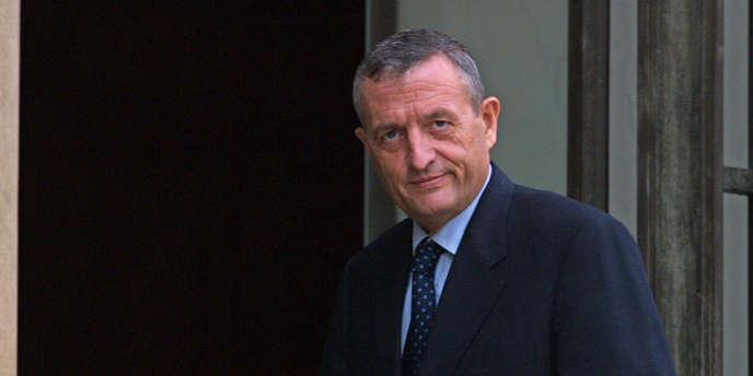 L'ancien ministre de la défense, François Léotard, en 2001.