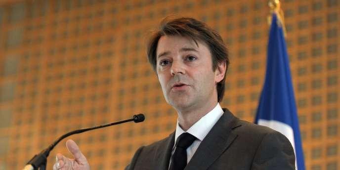 Le ministre du budget François Baroin.