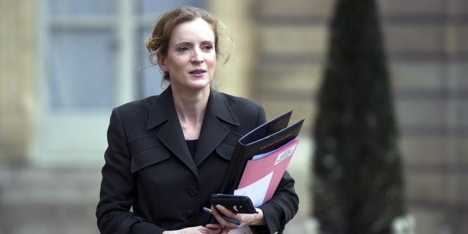 Nathalie Kosciusko-Morizet à l'Elysée, le 26 janvier 2011.