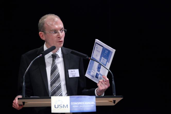 Christophe Regnard, président de l'Union syndicale des magistrats (USM, majoritaire), plaide pour un plan Marshall de la justice.