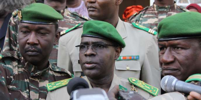 Le général Salou Djibo, chef du Conseil pour la restauration de la démocratie (CSRD), la junte militaire qui renversa, en février 2010, le président Mamadou Tandja.