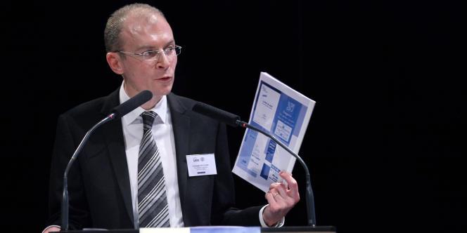 Christophe Régnard, président de l'Union syndicale des magistrats (USM, majoritaire).