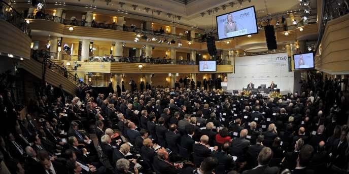 Des diplomates réunis lors de la conférence sur la sécurité à Munich, le 5 février 2011.