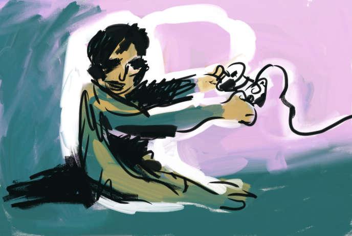 Illustration de Xavier Gorce pour Le Monde.fr.