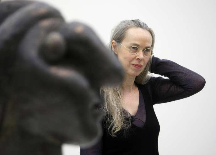 La directrice du Musée Picasso, Anne Baldassari, à Madrid, le 4 février 2008.