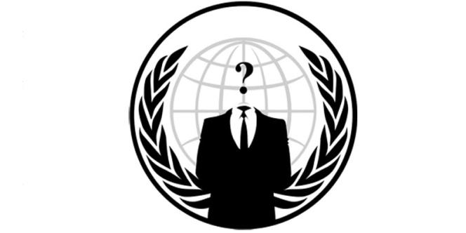 Le logo d'Anonymous.