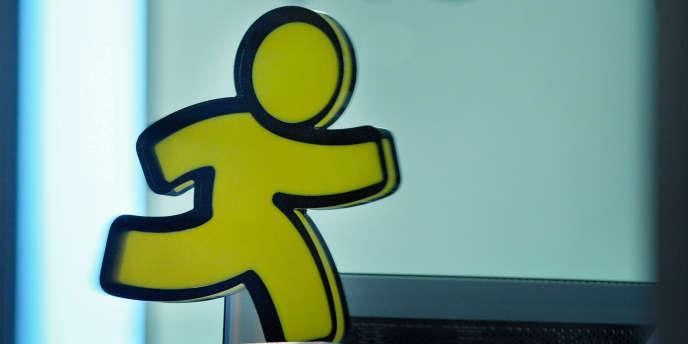 Le logo d'AOL.
