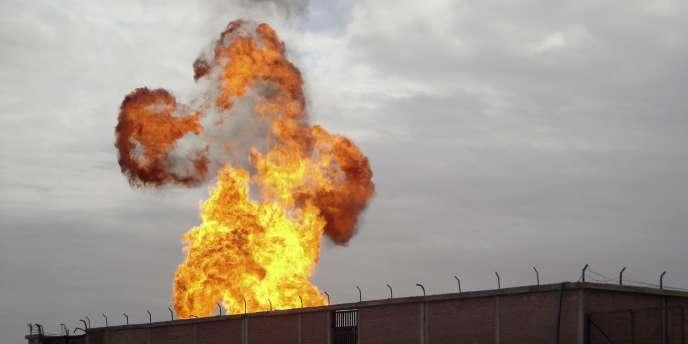 Un attentat a endommagé un gazoduc dans la région frontalière avec Israël – ici, le 5 février 2011 à El-Arish.