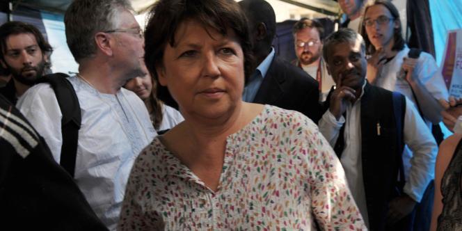 Martine Aubry, à Dakar, le 8 février 2011.