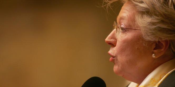 La députée UMP de Moselle, Marie-Jo Zimmermann.