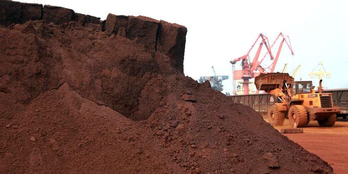 La production de terres rares est concentrée à 97 % en Chine.