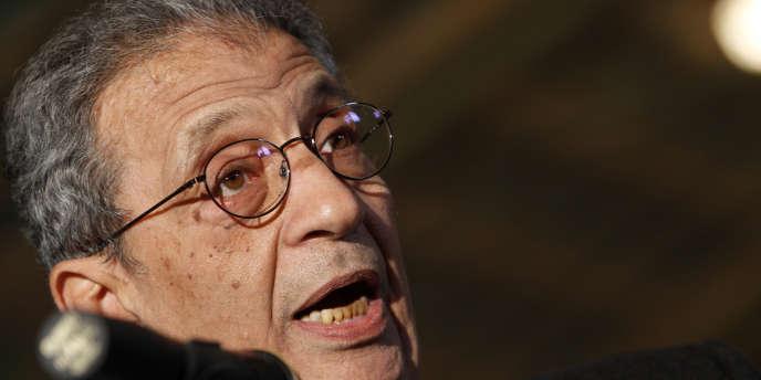 Amr Moussa, ancien ministre des affaires étrangères égyptien, actuel secrétaire général de la Ligue arabe, entend jouer un rôle dans une éventuelle transition politique en Egypte.