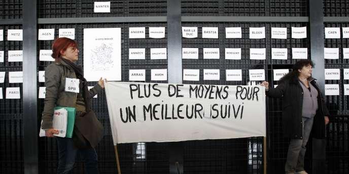 Dans le palais de justice de Nantes, le 10 février.