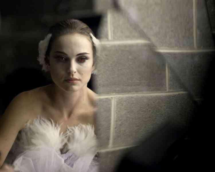 """Natalie Portman dans le film américain de Darren Aronofsky, """"Black Swan""""."""
