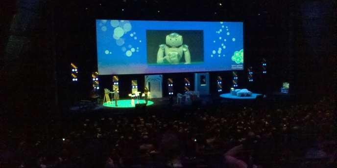 La présentation du Robot Nao, par Microsoft.