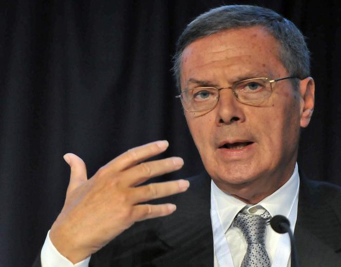 Daniel Lebègue, président de Transparency International France, en 2009.
